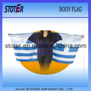 Different Country Body Flag Cape for Sports Fan Events pictures & photos