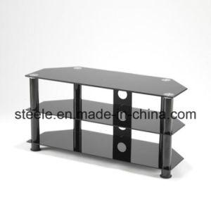 Modern Black Glass TV Stand/TV Rack/TV Table/TV Cabinet