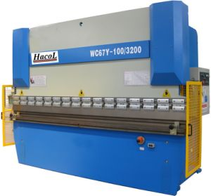 Wc67y-100t3200mm Hydraulic Press Brake/Hydraulic Plate Bending Machine/Plate Bender pictures & photos