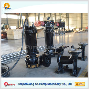 Vertical Centrifugal Sump Submersible Slurry Pump pictures & photos