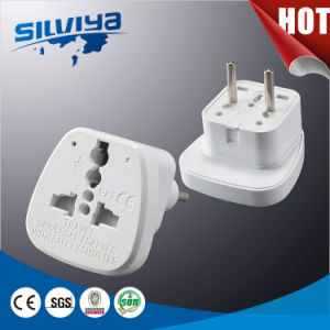 2 Pin European Plug Travel Adapter Plug pictures & photos