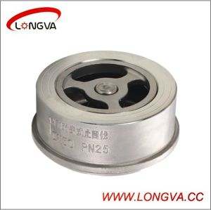 Hotsale Stainless Steel 304 Wafer Type Check Valve pictures & photos