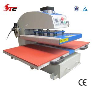 CE Certificate Automatic Pneumatic Double Stations Sublimation Heat Press Machine for T Shirt pictures & photos