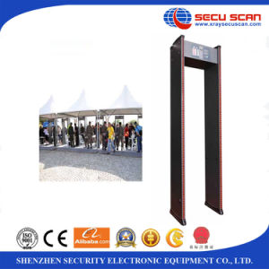6 zones Walk Through Metal Detector AT-IIIC for Bank & Police security check pictures & photos