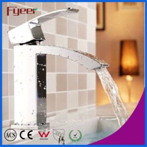 Fyeer Hot Sale Economical Brass Basin Faucet (QH0517C) pictures & photos