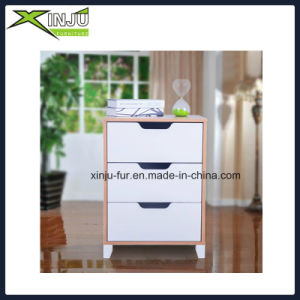 Simple 3 Drawer Wooden Bedroom Chest pictures & photos