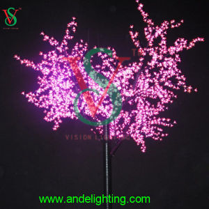 24V 3m LED Tree Light Pink Sakura Cherry Tree Light pictures & photos