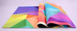 Open-Cell Natural Rubber Yoga Mat, Body Fit Mat pictures & photos