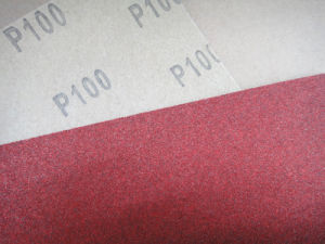 Aluminum Oxide C-Wt Craft Paper Red Massa Abrasive Paper FM03 pictures & photos