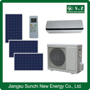Acdc 50-80% Wall Split Type Solar Power Air Condition Unit pictures & photos