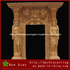 Marble Door Surround, Outdoor Stone Granite Door Frame pictures & photos