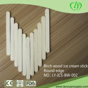 Birch Wood Disposible Ice Cream Sticks pictures & photos
