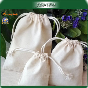 Home Collection Customized Size Natural Cotton Jewelry Bag pictures & photos