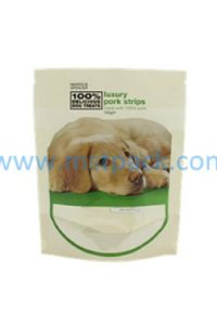Stand up Pouch Bag for Dog Food with Clear Window pictures & photos