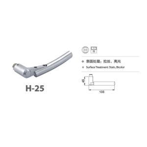 Stainless Steel 304 Simple Design Door Handle Lock (H-25) pictures & photos