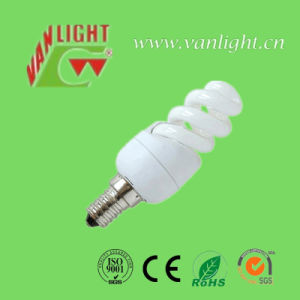 Full Spiral Energy Saving Lights T2-7W CFL Light (VLC-MFST2-7W) pictures & photos
