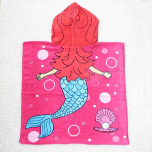 Competitive Kids Printed Beach Poncho Bath Poncho pictures & photos