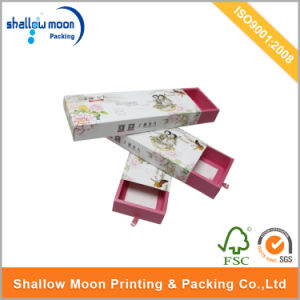 Customized Printing Drawer Cosmetics Packaging Paper Box (QYCI15193) pictures & photos