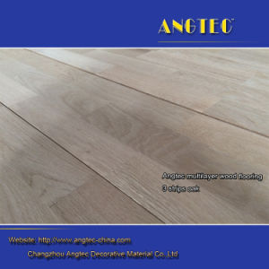 3 Strips 3mm Top Layer Engineered Oak Flooring pictures & photos