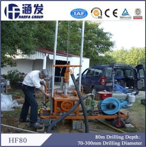 Portable Water Well Drilling Equipment (HF80) pictures & photos
