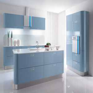Hot Sale Lacquer Kitchen Furniture with Island Cabinet (ZH-K042) pictures & photos