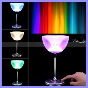 Color Changeing Romantic Mini Bluetooth Cup Goblet Speaker with Colorful LED Light pictures & photos