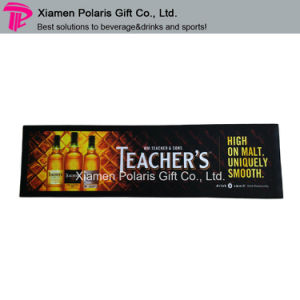 Customized Nature Foam Rubber Compound Printed Multispandex Bar Runner pictures & photos
