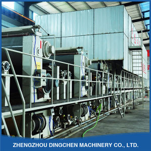 3200mm High Strength Semi-Automatic Fluting Paper Making Machine pictures & photos