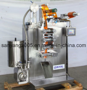 Cough Syrup Four Side Sealing & Double-Lane Packing Machine pictures & photos