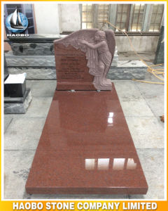Granite Gravestone with Rising Steps pictures & photos