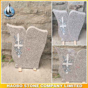 Granite Upright Headstone for Sale Modern Shape pictures & photos