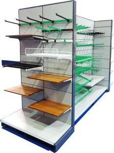 Heavy Duty Double Sides Supermarket Shelving pictures & photos