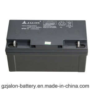 Long Life VRLA Battery for Electric Power System (12V65ah)
