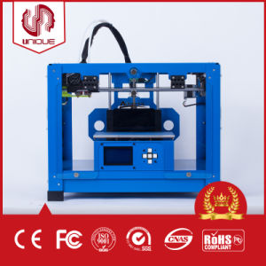 Affordable Large 3D Printer with Dual Nozzles, Support PLA, ABS pictures & photos
