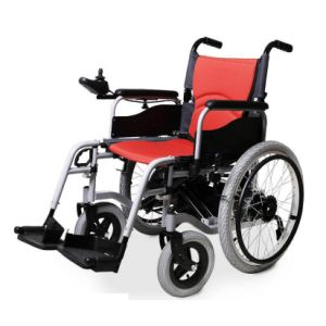 Foldable Electric Wheelchair for The Disabled and Elderly People (BZ-6111) pictures & photos