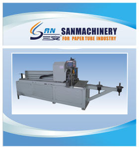 Automatic Paper Tube Re-Cutter with PLC Touching Panel pictures & photos