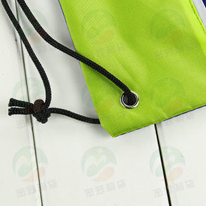 Drawstring Bag with Zipper M. Y. D-005 pictures & photos