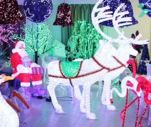 Outdoor Decoration 24V Sculpture LED Deer Light Garden Light pictures & photos