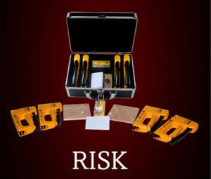 Staple Gun! Risk by Francesco Tesei/ Magic Tricks