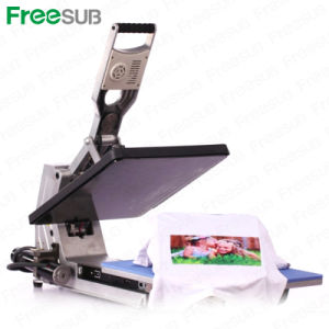 Sunmeta Automatic T-Shirt Heat Press Sublimation Machine pictures & photos