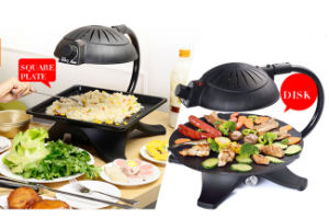 Popular Smokeless Electric Adjustable BBQ Grill (ZJLY) pictures & photos