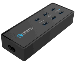 Quick Charger with 6 USB Ports pictures & photos