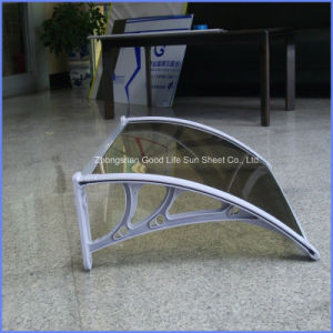 Door Rain Awning with Aluminum Alloy Support pictures & photos