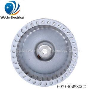 Range Hood Aluminum Centrifugal Cent Wheel