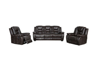 12027 Leather Air Recliner Sofa pictures & photos