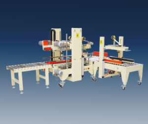 Automatic Flaps Folding Carton Sealer (CS5050AF-2) pictures & photos