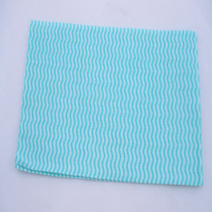 Spunlace Nonwoven Fabric Cleaning Wipe Roll pictures & photos
