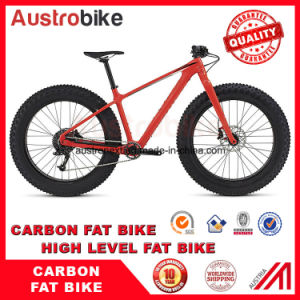 """Full Carbon Fatbike Carbon Fat Bike 26"""" Carbon Fat Tyre pictures & photos"""