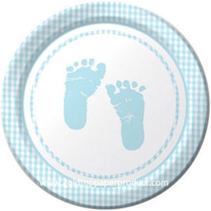 """7"""" Paper Plates for Baby Shower pictures & photos"""