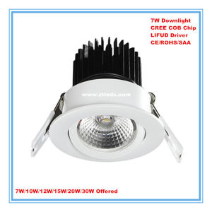 Office Home Hotel Used Dimmable 7W LED Downlight pictures & photos